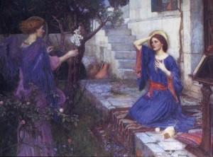 Annunciation -Waterhouse