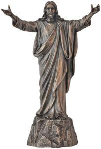 Jesus welcoming figure