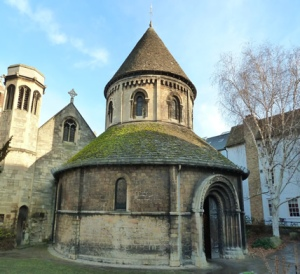 The 12th century Church of the Holy Sepulchre, commonly known as the Round Church - Cambridge