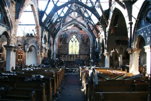 Immanuel Chapel burned